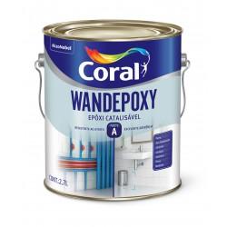 Wandepoxy bril branco 2,7l base solvente com catalisador - Coral