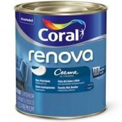 Creme de pintura Renova branco 0,800 - Coral