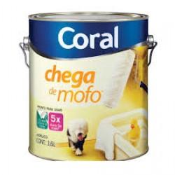 Tinta Chega de Mofo branca 3,6l - Coral