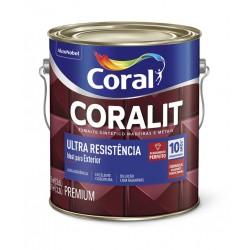 Esmalte sintético Coralit Brilhante Ouro Ultra Resistência 3,6l - Coral