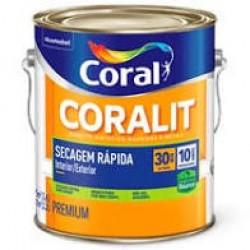 Esmalte base água Coralit ace branco 3,6l - Coral