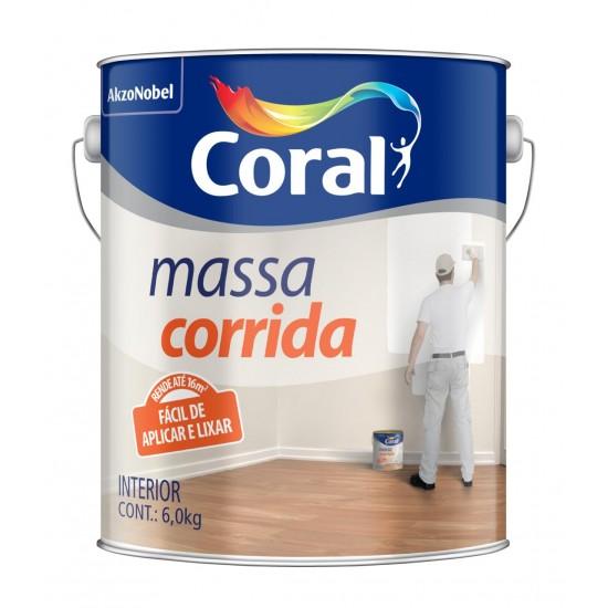 Massa Corrida 6kg - Coral