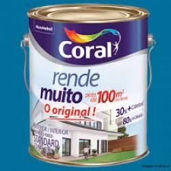 Tinta Rende Muito branco 3,6l - Coral