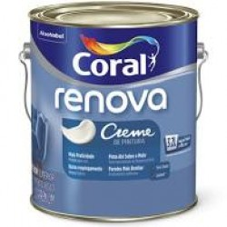 Creme de pintura Renova branco 3,2l - Coral