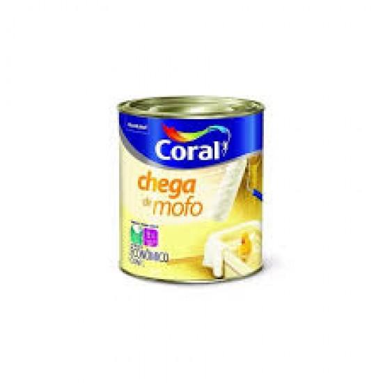 Tinta Chega de Mofo branca 0,900ml - Coral