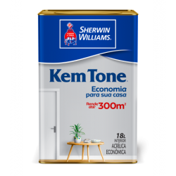 Kem Tone Acrílico branco 18l - Sherwin Williams