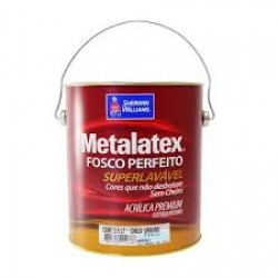 Metalatex Acrílico fosco Premium branco 3,6l - Sherwin Williams