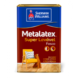 Metalatex Acrílico fosco Premium branco 18l - Sherwin Williams